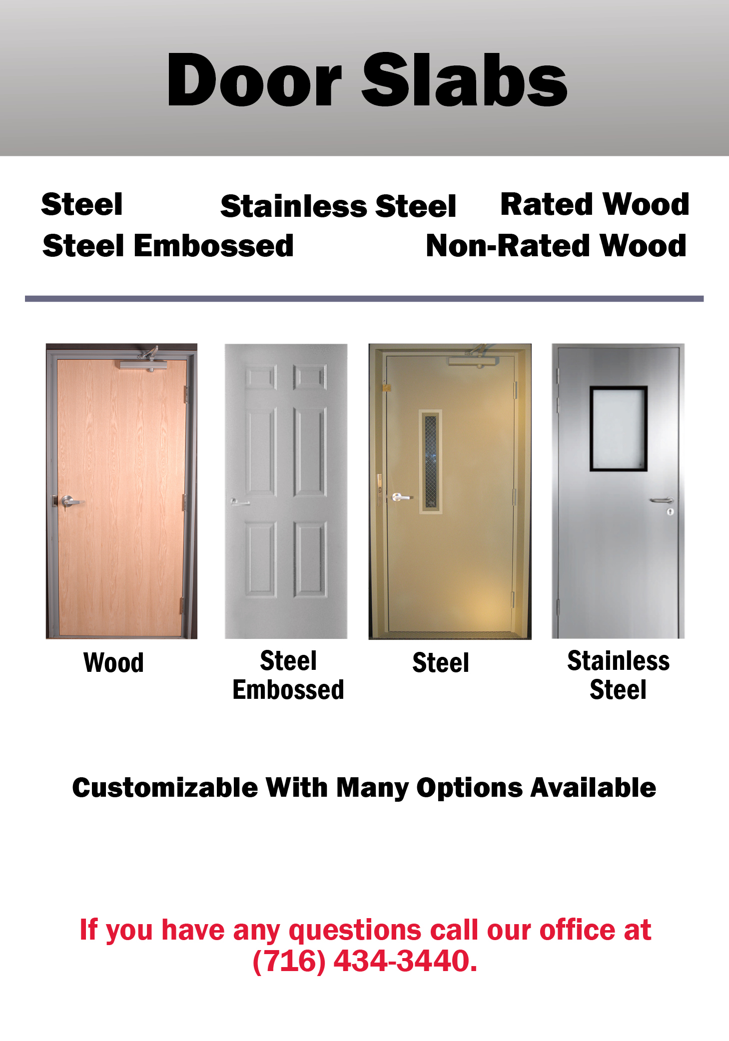 EZ Entry Doors Door Slabs